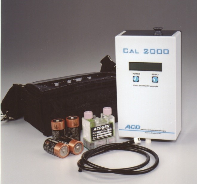 CAL 2000 Calibration Gas Instrument