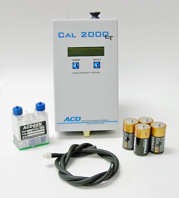 cal 2000lt calibration gas instrument