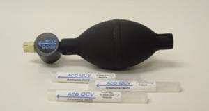 QC-50 Calibration Gas Bump Tester