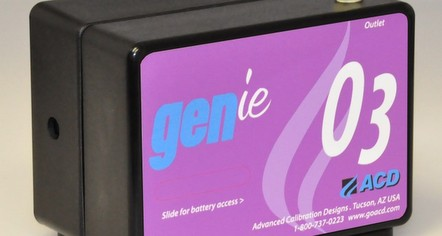GENie O3 Ozone Calibration Gas Instrument