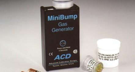 MiniBump Calibration Gas Bump Tester (750-0401-00)