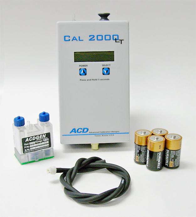 cal 2000lt calibration gas instrument