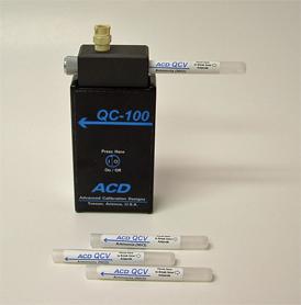QC-100 Calibration Gas Bump Tester