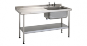 Stainless Steel Washrooms and Sinks
