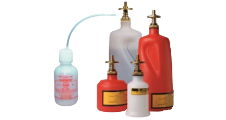 Polyethylene Dispensing Cans and Squeeze Bottles
