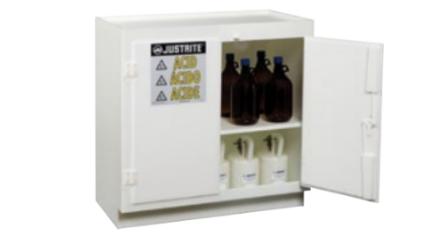 Solid Polyethylene Acid Cabinets