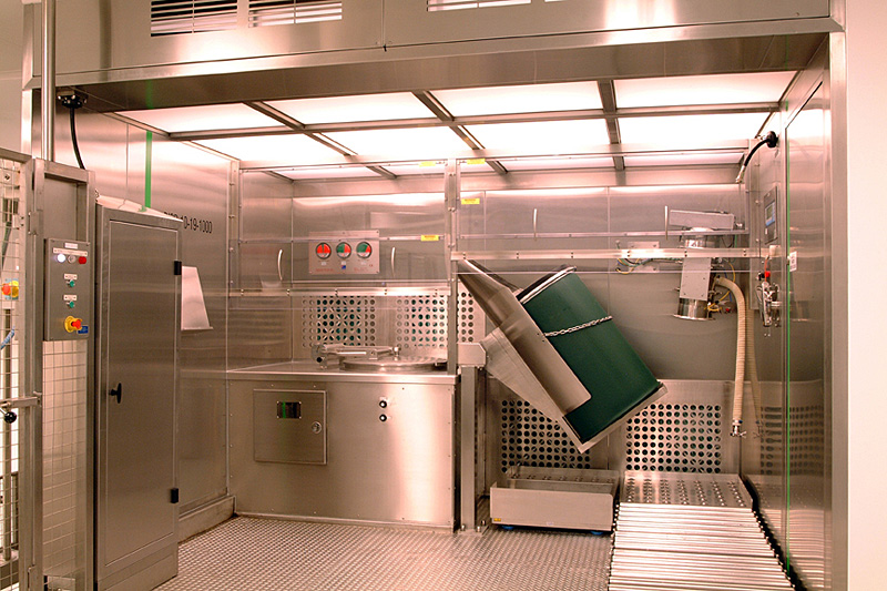 downflow booths
