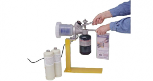 Calibration gas cylinders feature
